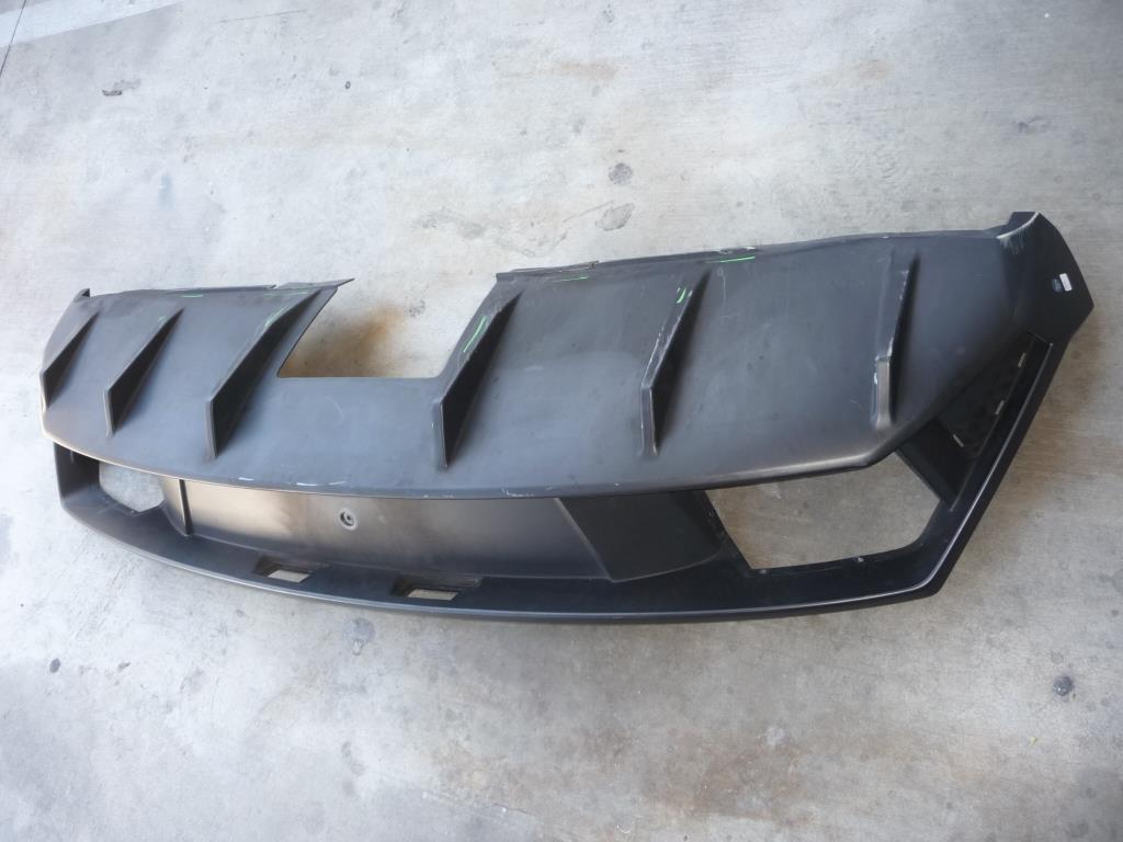 Lamborghini Gallardo LP560-4 Rear Bumper Cover Hinten Unten Coat 400807527S - Used Auto Parts Store | LA Global Parts