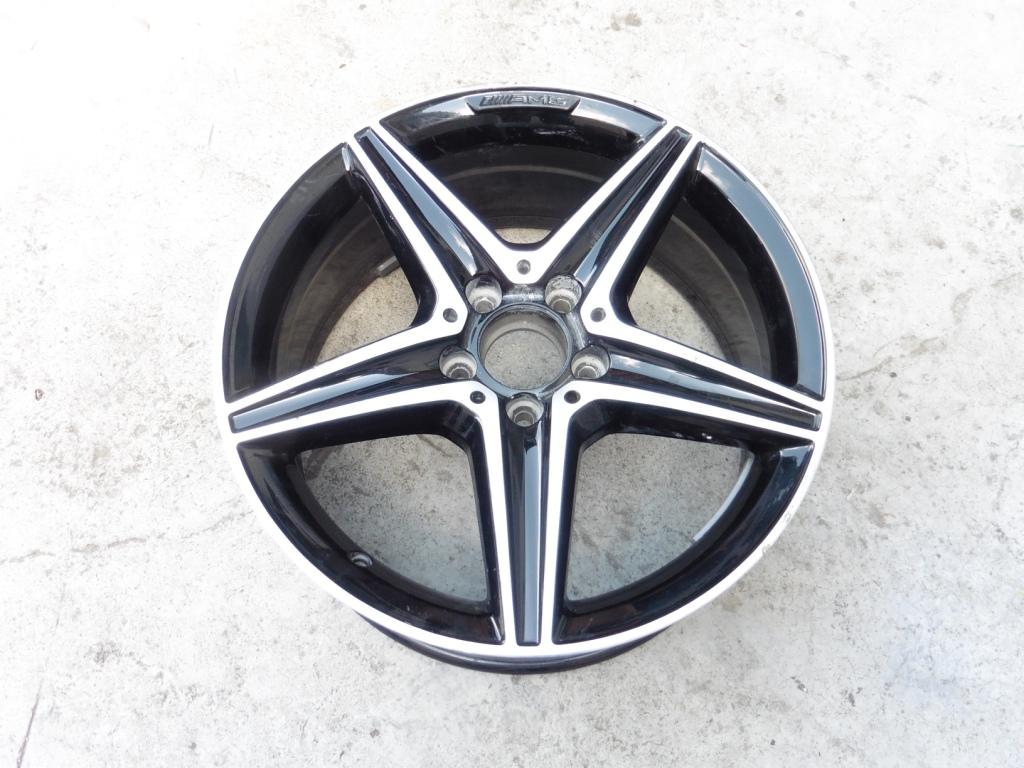 2018 Mercedes Benz W213 E400 Wheel Rim 8Jx18 ET43 A2134011800 OEM OE