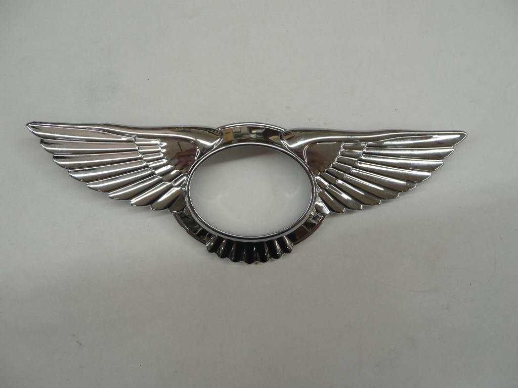 2013 2014 2015 2016 Bentley Flying Spur Rear Grille Wing Badge Emblem 4W0853689A OEM OE