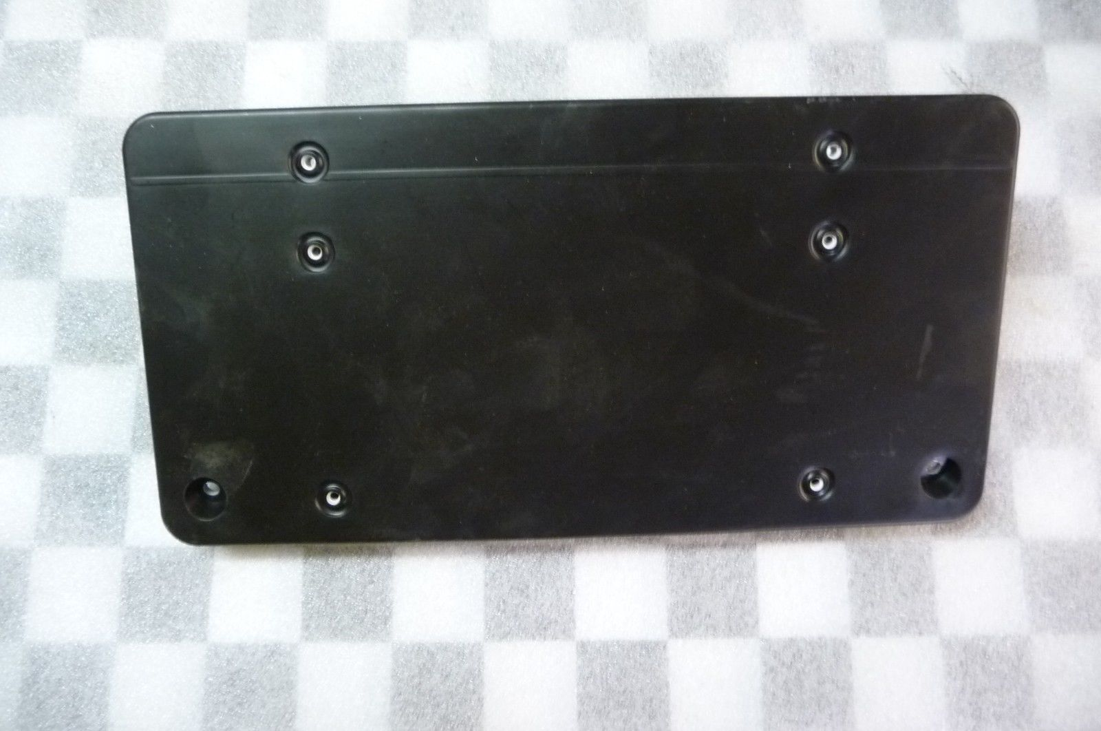 Mercedes Benz S Class Front Bumper License Plate Moulding A 1408851381 OEM OE