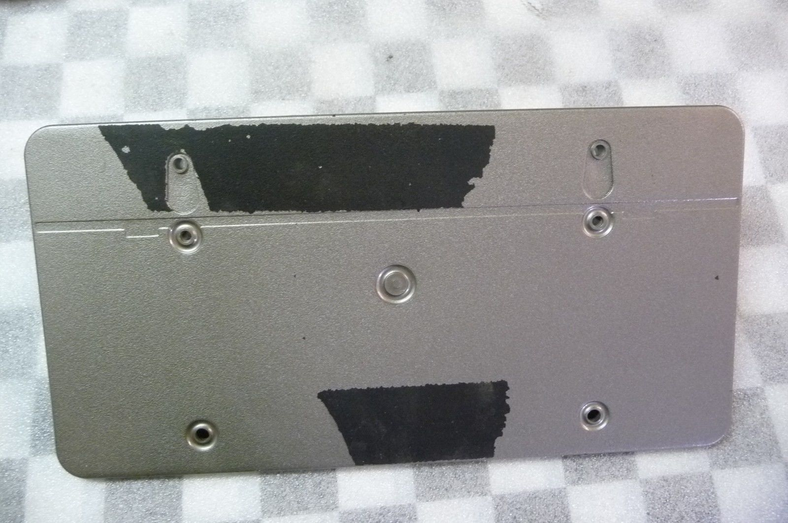Mercedes Benz S Class Front Bumper License Plate Moulding A 2208851581 OEM OE