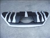 2019 Lamborghini LP740 Aventador S Rear Lower Bumper Diffuser Trim 470807539J OEM OE