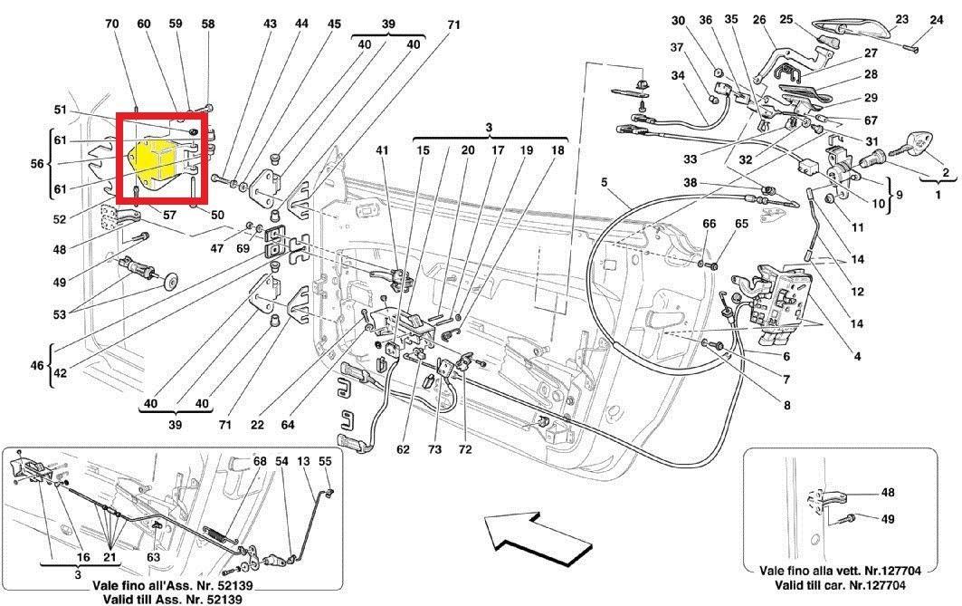 2000-2009 Ferrari 360 Modena, Spider, F430 Fixed Door