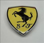 2008-2014 Ferrari California Fender Squadra Corse Shield Badge Emblem 69750300 OEM