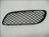 2004 2005 2006 2007 2008 Bentley Continental GT GTC Front Bumper Left Grille Black Plastic 3W8807683A - Used Auto Parts Store | LA Global Parts