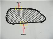 2000 2001 2002 2003 2004 2005 Ferrari 360 Challenge Modena Spider LH Left Driver Front Bumper Grille Grill 63330300 OEM OE