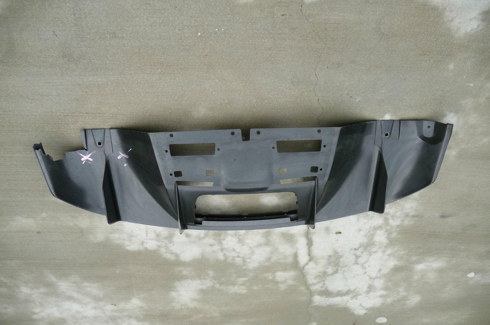 Audi R8 Rear Bumper under Spoiler diffusor Cover Carbon Fiber 42B807521 OEM OE