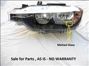 2016 2017 BMW F30 320i 328i Sedan Left Halogen Headlight 63117365599; 7365599-09; 1EG012.101-05/AI