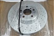 2014 2015 2016 2017 2018 2019 2020 BMW i8 Brake Disc, Lightweight, Ventilated, Perforated 34116858623 OEM OE