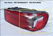 2014 2015 2016 2017 Bentley BY621 Flying Spur Rear Right Passenger Taillight 4W0945096J OEM OE