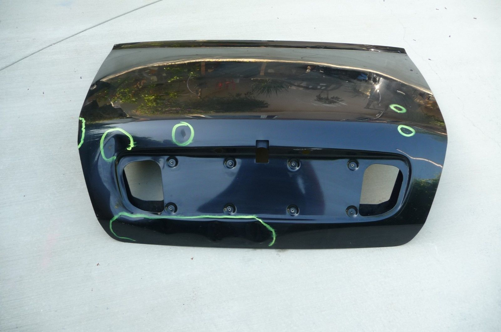 Bentley Arnage Rear Trunk Bonnet Lid Cover - Used Auto Parts Store | LA Global Parts