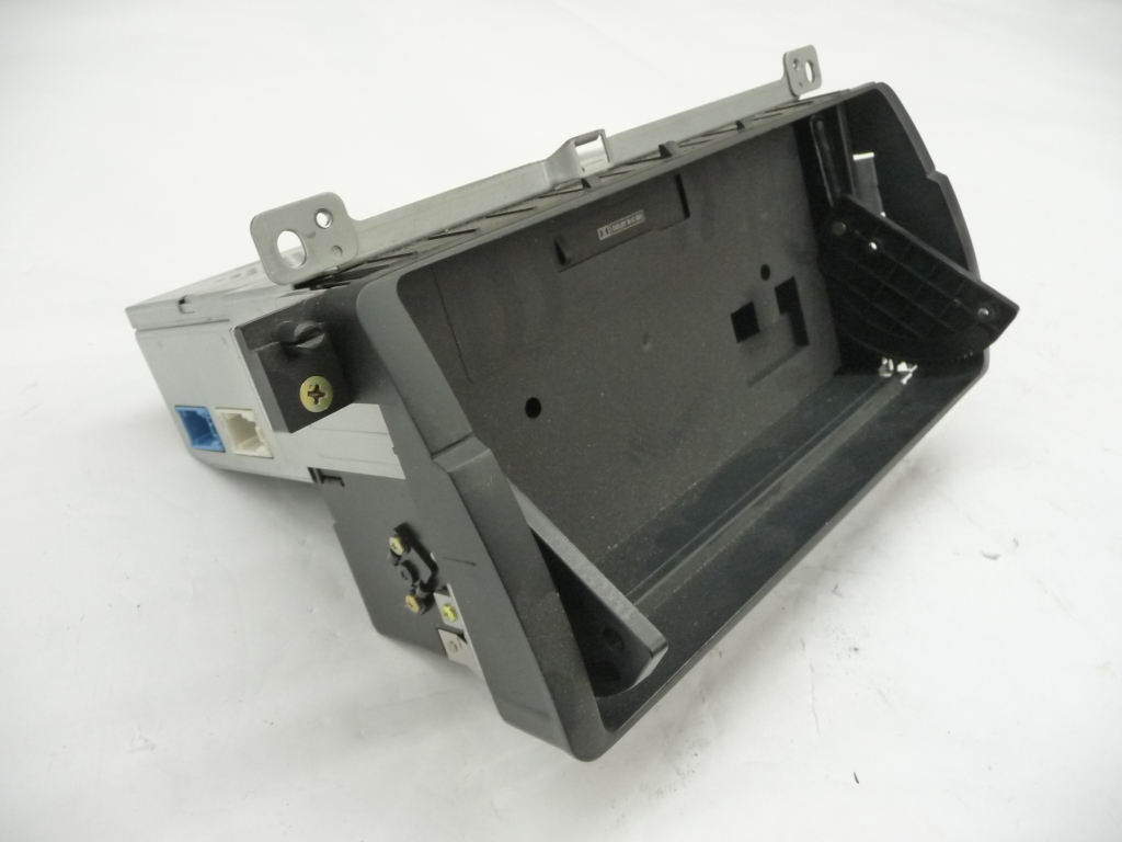 2002 2003 2004 2005 BMW E46 325i 330i On Board Monitor Housing With Cassette Drive ALPINE 65526923875; 65506911011; 65526923873 OEM
