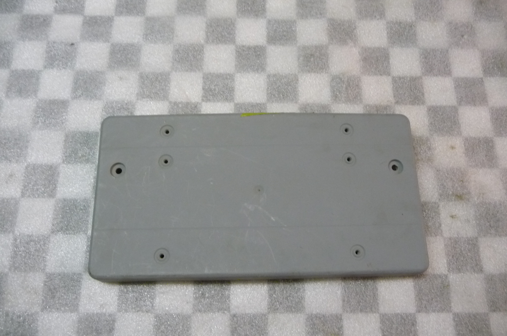 Mercedes Benz ML Front Bumper Licence Plate Moulding -NEW- A 1638850381 OEM OE