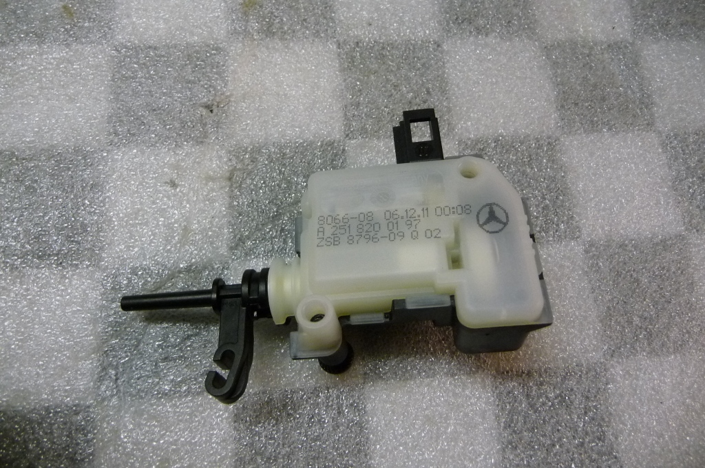 Mercedes Benz R S CL GL ML Fuel Tank Flap Locking Mechanism NEW A 2518200197
