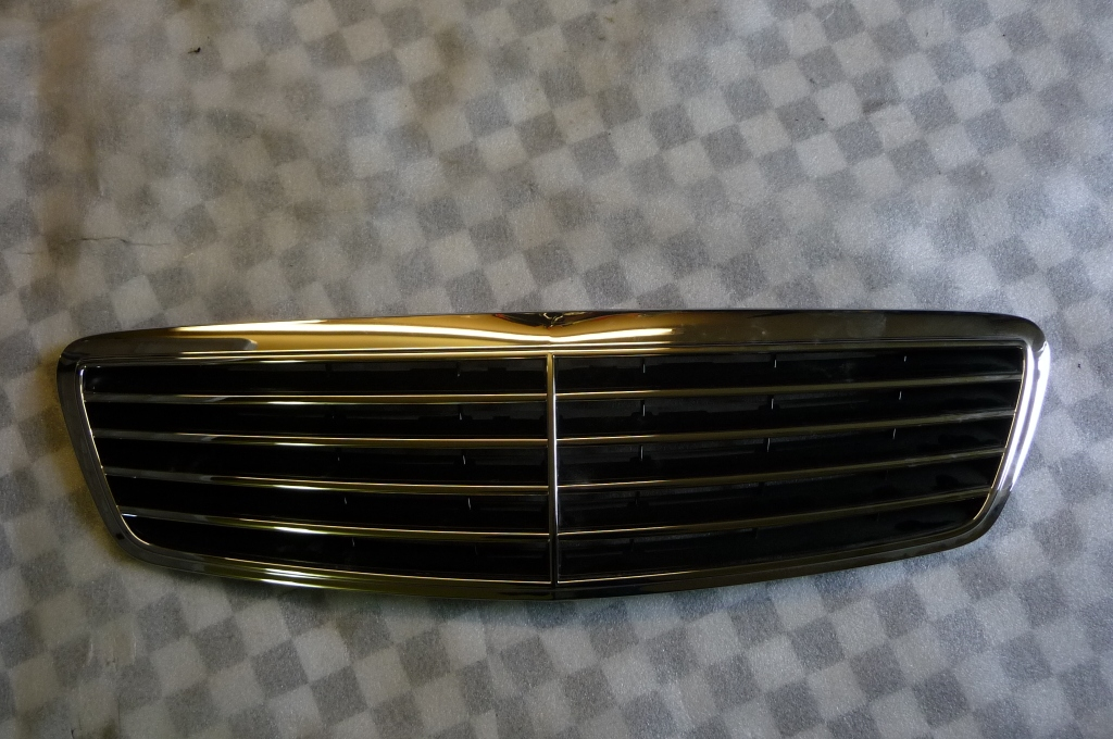 Mercedes Benz S Class W220 Front Radiator Grill Grille -NEW- A 2208800383 OEM OE