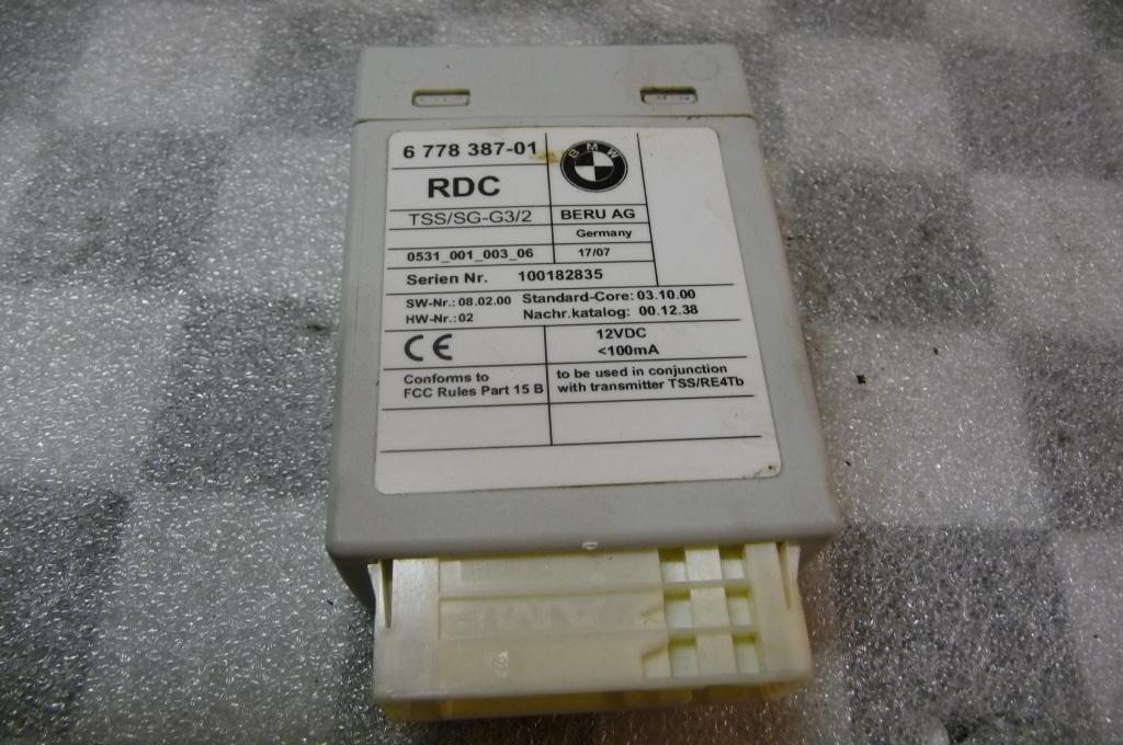 BMW 1 3 5 6 7 X5 X6 Z4 Tire Pressure Control Unit RDC 36236778387 OEM OE