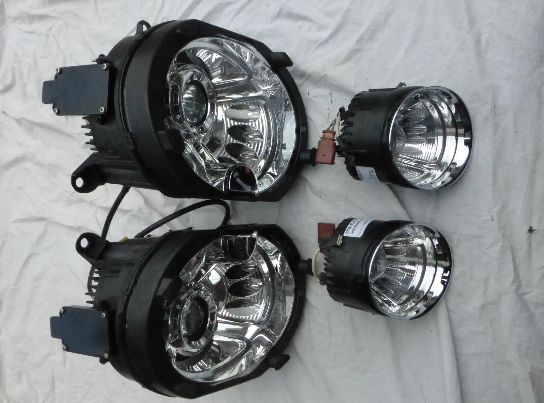 2011 2012 2013 2014 2015 2016 Bentley Mulsanne Complete Front Headlights Headlamps Turn Signal Lamps - Used Auto Parts Store | LA Global Parts