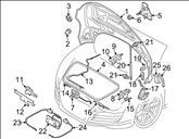 Audi R8 Front Hood Bonnet Cover 420823021A, OEM OE