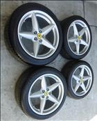 Ferrari 360 Spider Spyder Modena Rim Wheel Front Rear Complete Set  - Used Auto Parts Store | LA Global Parts