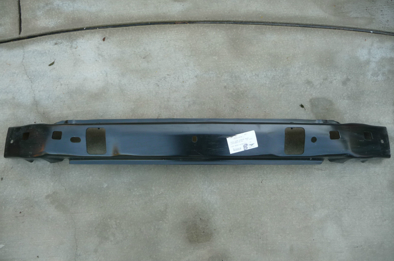 2004 2005 2006 2007 2008 2009 2010  Bentley Continental GT GTC Flying Spur Rear Cross Member Bar Beam Reinforcement Absorber 3W0807305H - Used Auto Parts Store | LA Global Parts