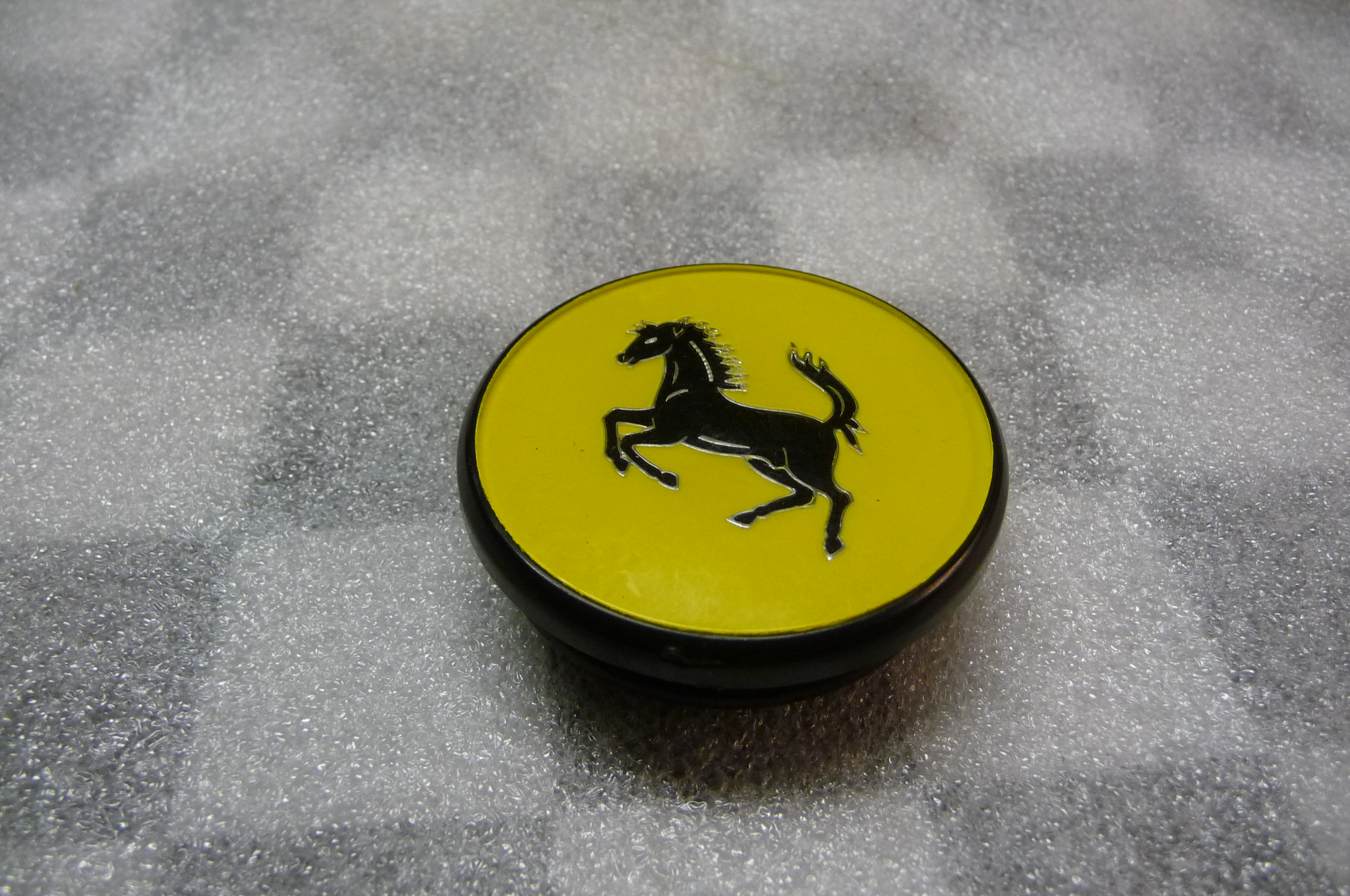 Ferrari Old Style Original First Edition Wheel Cap P# 108947 - Used Auto Parts Store | LA Global Parts