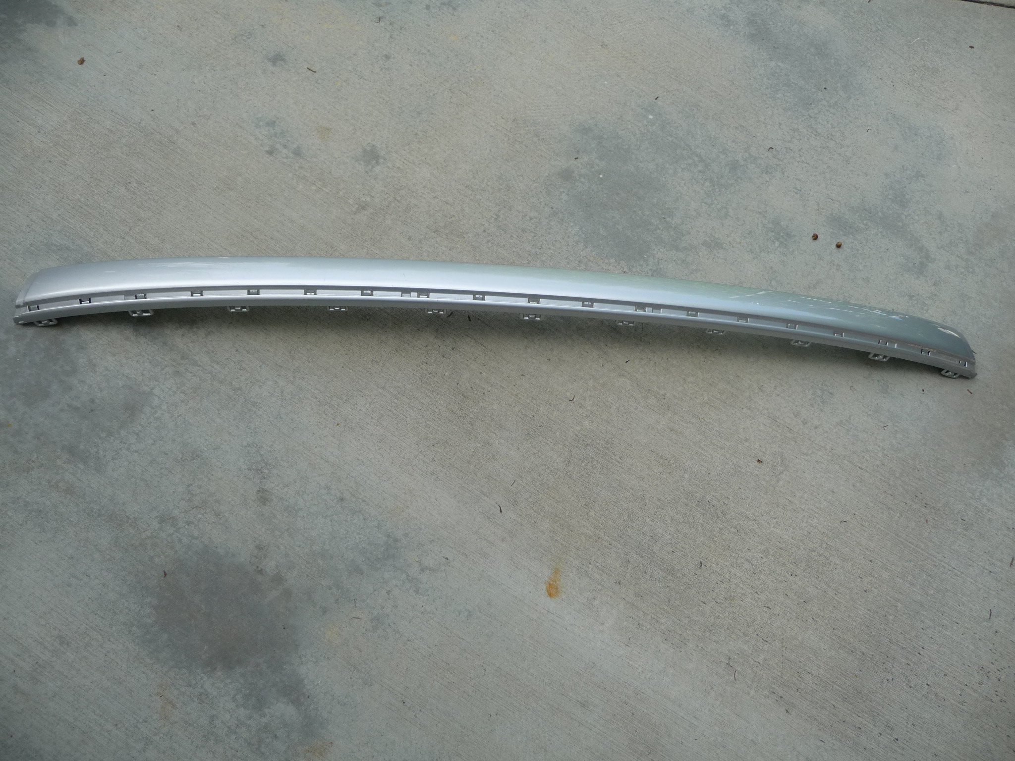 Mercedes Benz E Class W211 Rear Bumper Protective Strip Primed A 2118800012 OEM