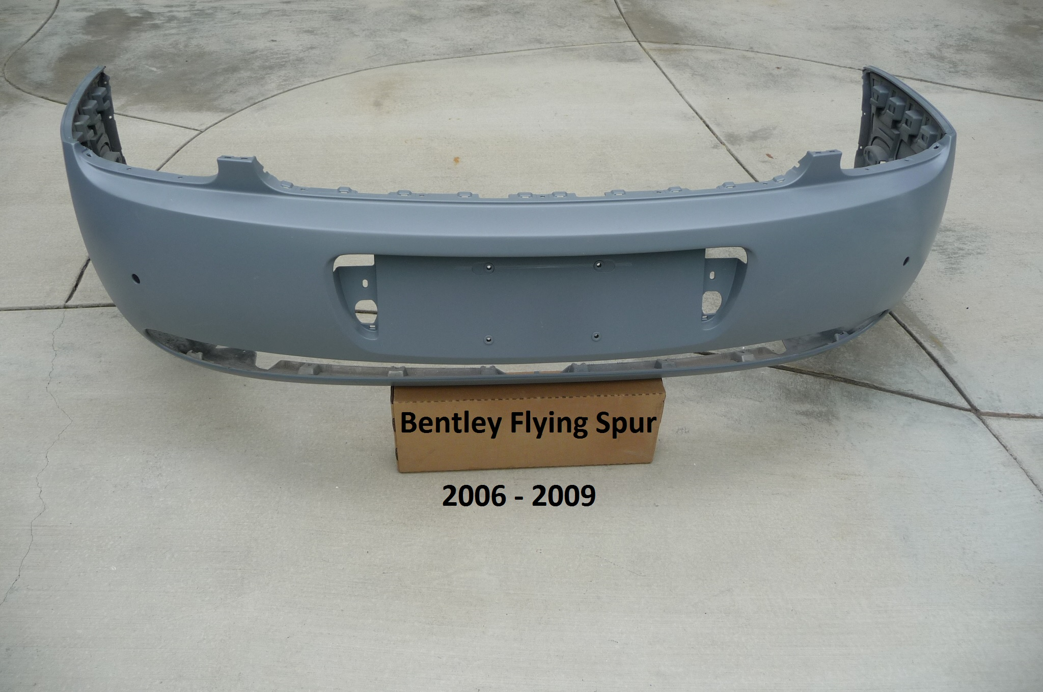 Bentley Continental Flying Spur Rear Bumper Cover 3W5807421D OEM OE