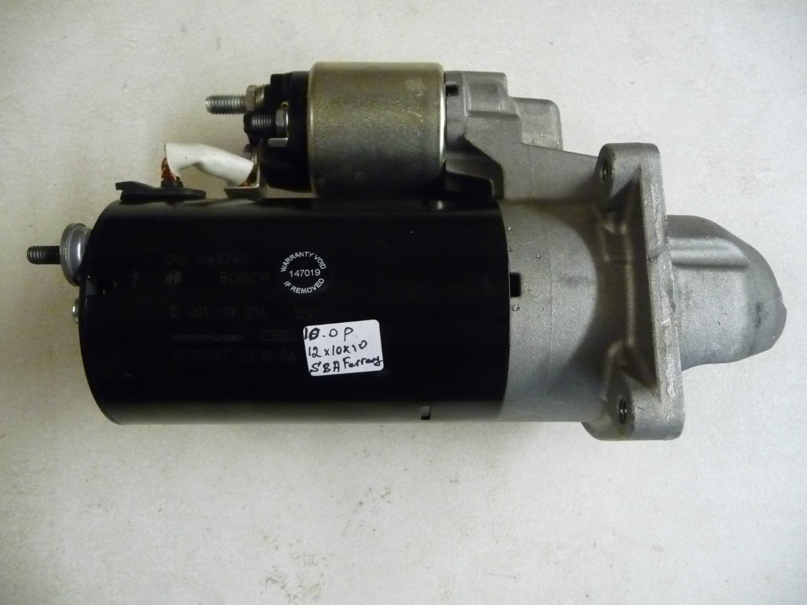 Ferrari 458 Italia 248743 Starter Motor OEM OE - Used Auto Parts Store | LA Global Parts