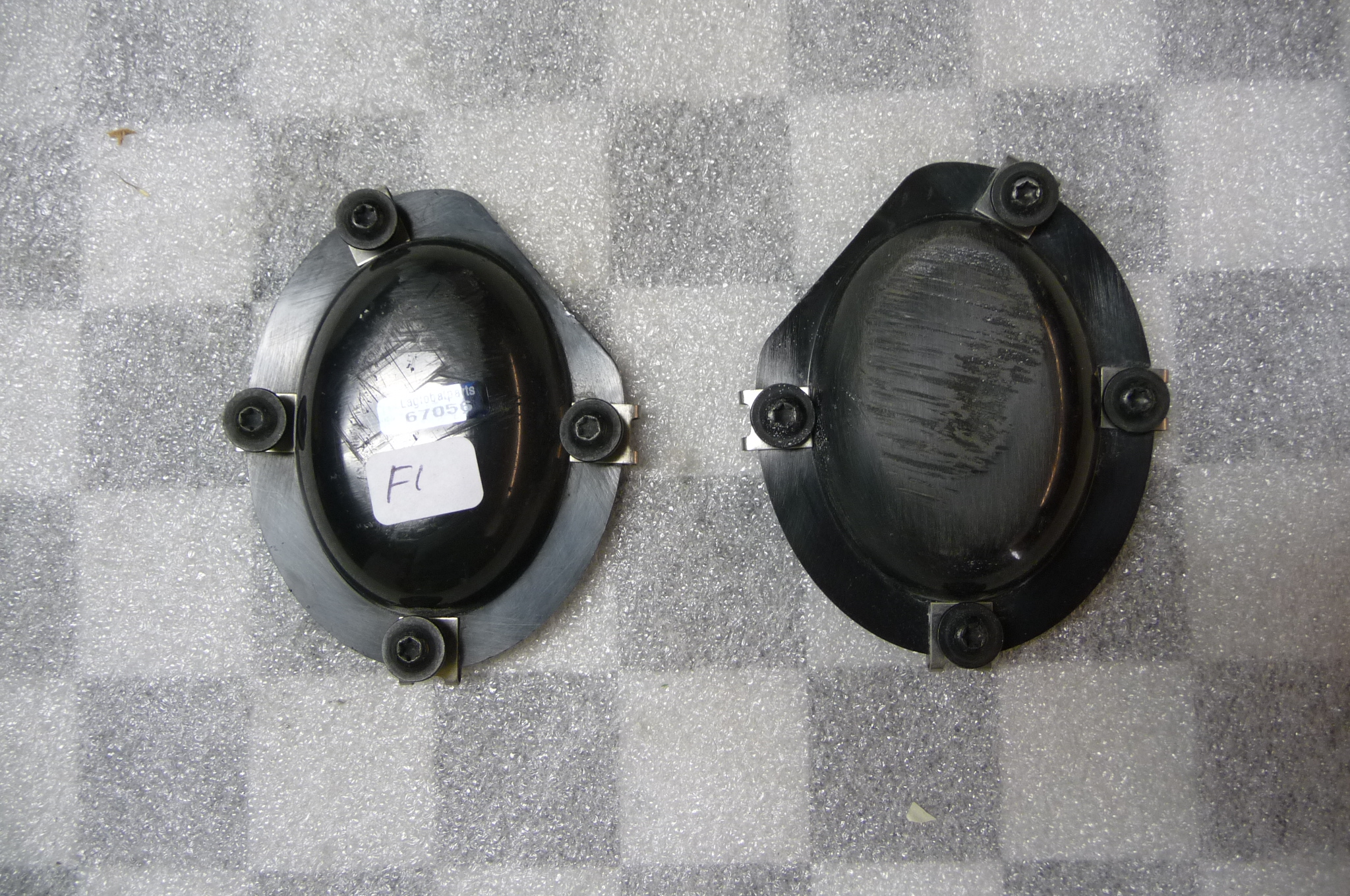 Lamborghini Gallardo Coupe Spyder Front Bumper Left and Right Bottom Plug OEM OE