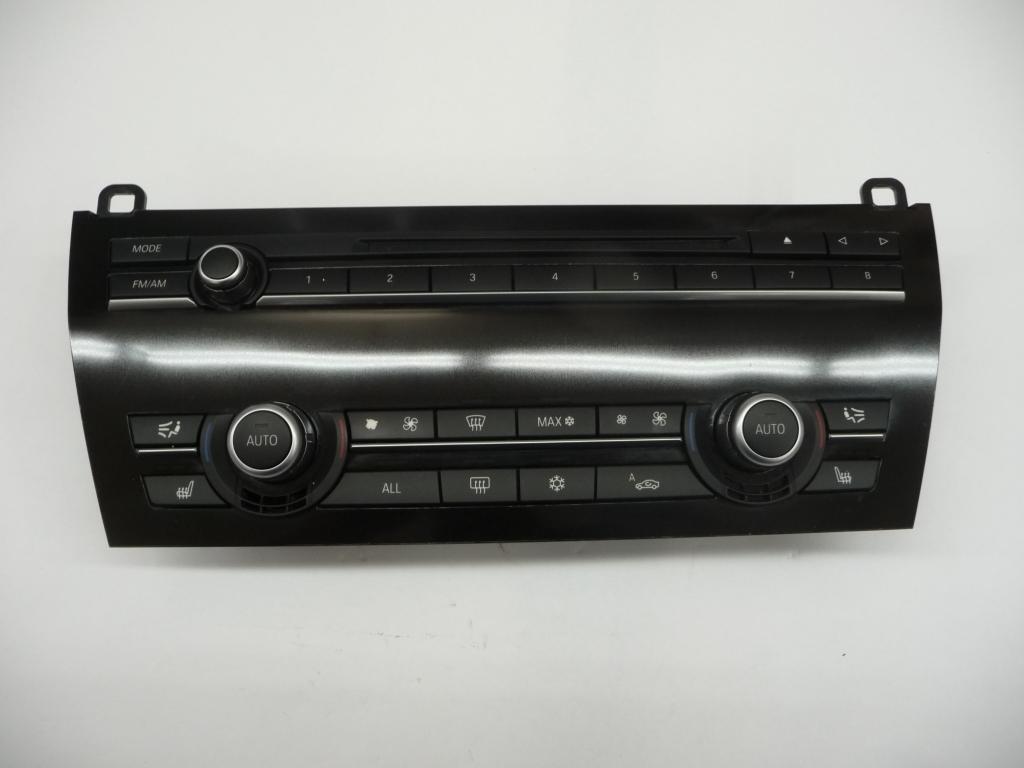 2010 2011 2012 2013 2014 2015 BMW F01 F02 740i 750i 750Li 760Li In dash Audio AC Air Conditioning Heater Control Unit 61319221654 ; 61319328413 OEM