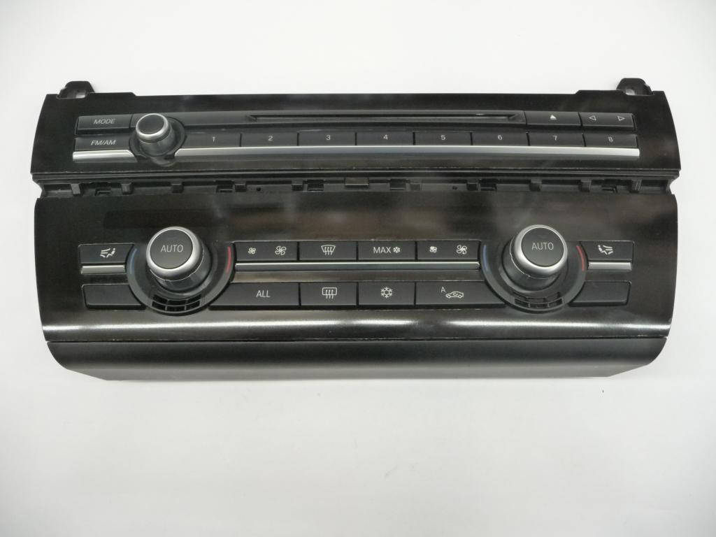 2011 2012 2013 2014 2015 2016 BMW F10 F11 528i 535i 550i In dash Audio AC Air Conditioning Heater Control Unit 61319230047