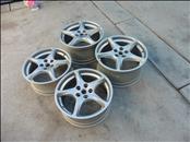 2005 2006 2007 2008 2009 2010 2011 Ferrari 612 Scaglietti Front Rear 5 Spoke Alloy Wheel Rim Set 194186 194187 OEM