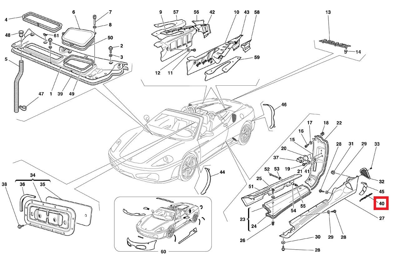 Ferrari 360 575M 456M Enzo F430 550 F50 PININFARINA