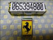 Ferrari Front Hood Bonnet Ornament Badge Emblem Enamel 65394800, NEW OEM OE