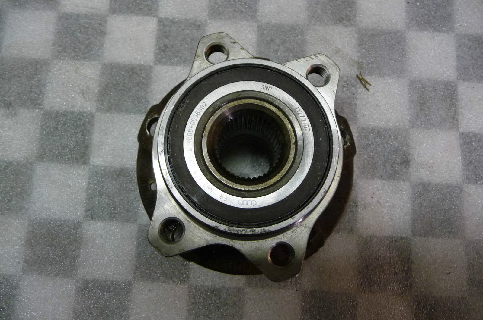 2004 2005 2006 2007 2008 2009 2010 2011 2012 2013 2014 Lamborghini Gallardo LP550 LP560 Murcielago Front Bearing with Hub 4E0407613A;  4E0407625D - Used Auto Parts Store | LA Global Parts