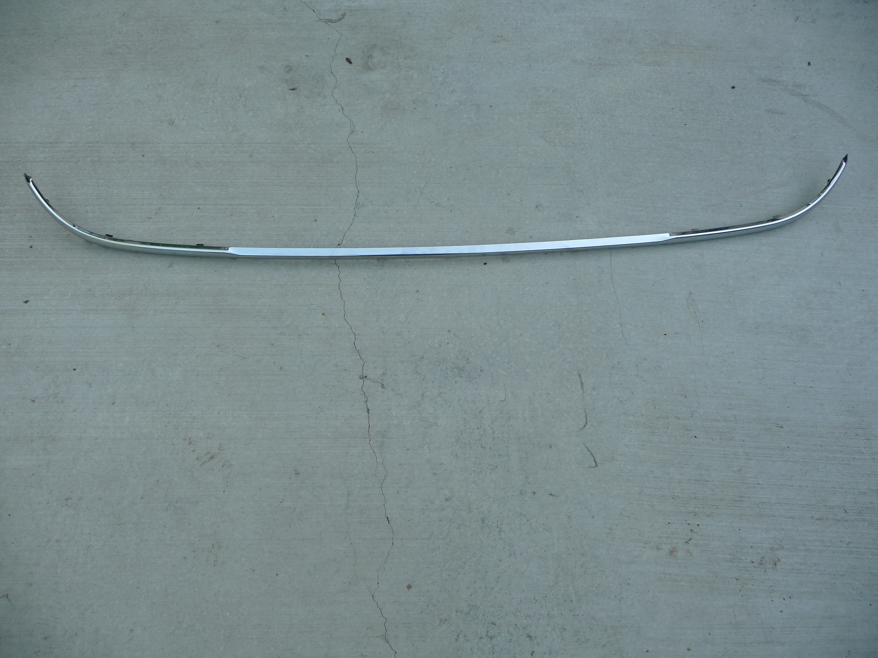Mercedes Benz W212 E Class Rear Bumper Trim Chrome Molding