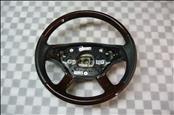 Mercedes Benz S Class CL Wood Leather Steering Wheel 2214600303 OEM OE
