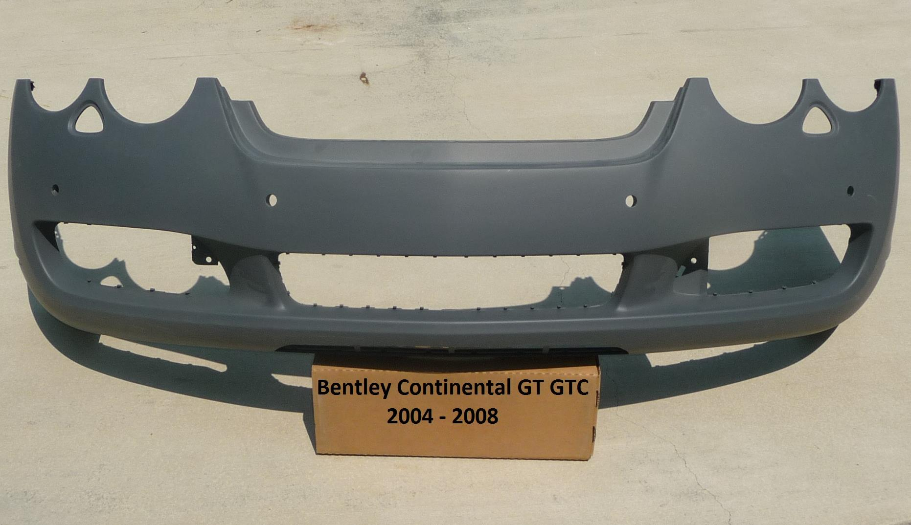 2004 2005 2006 2007 2008 Bentley Continental GT GTC two (2) door Coupe Convertible Front Bumper Cover 3W8807221 OEM OE