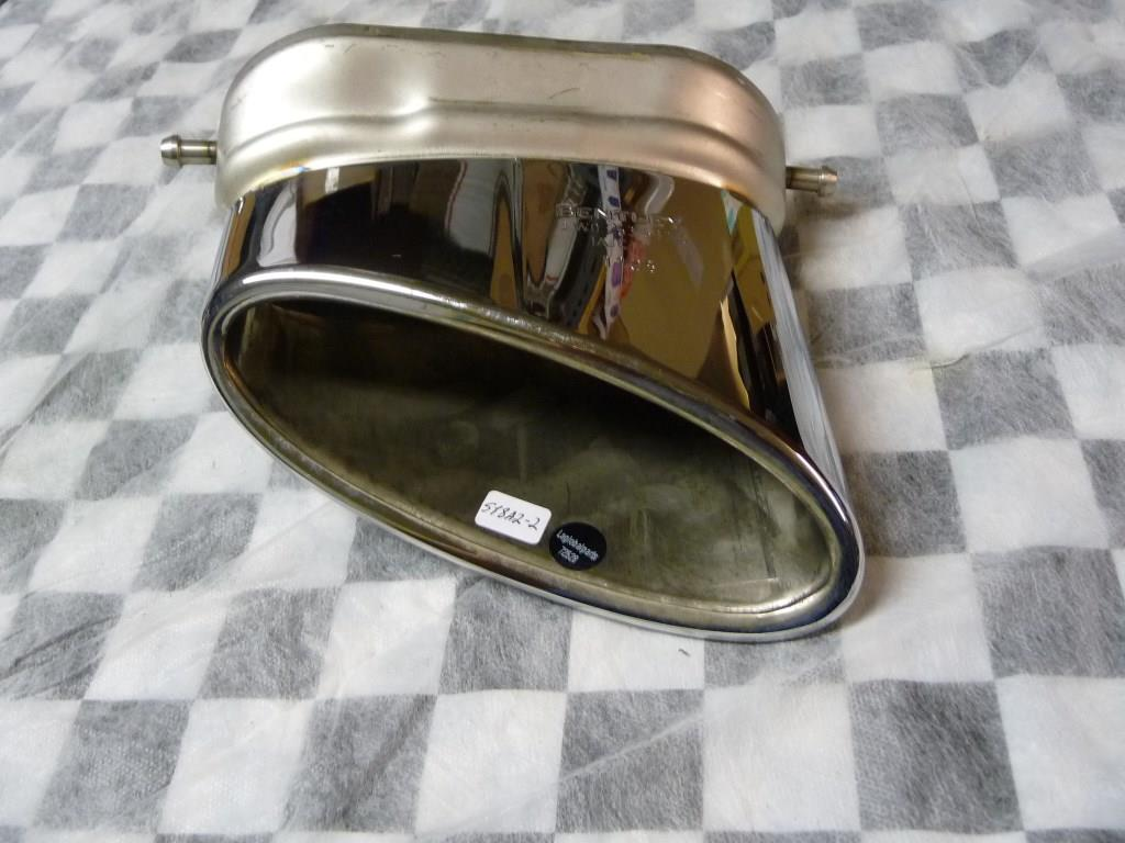 2004 2005 2006 2007 2008 Bentley Flying Spur Continental GT Right RH RT Rear Exhaust Tip 3W0253682D OEM