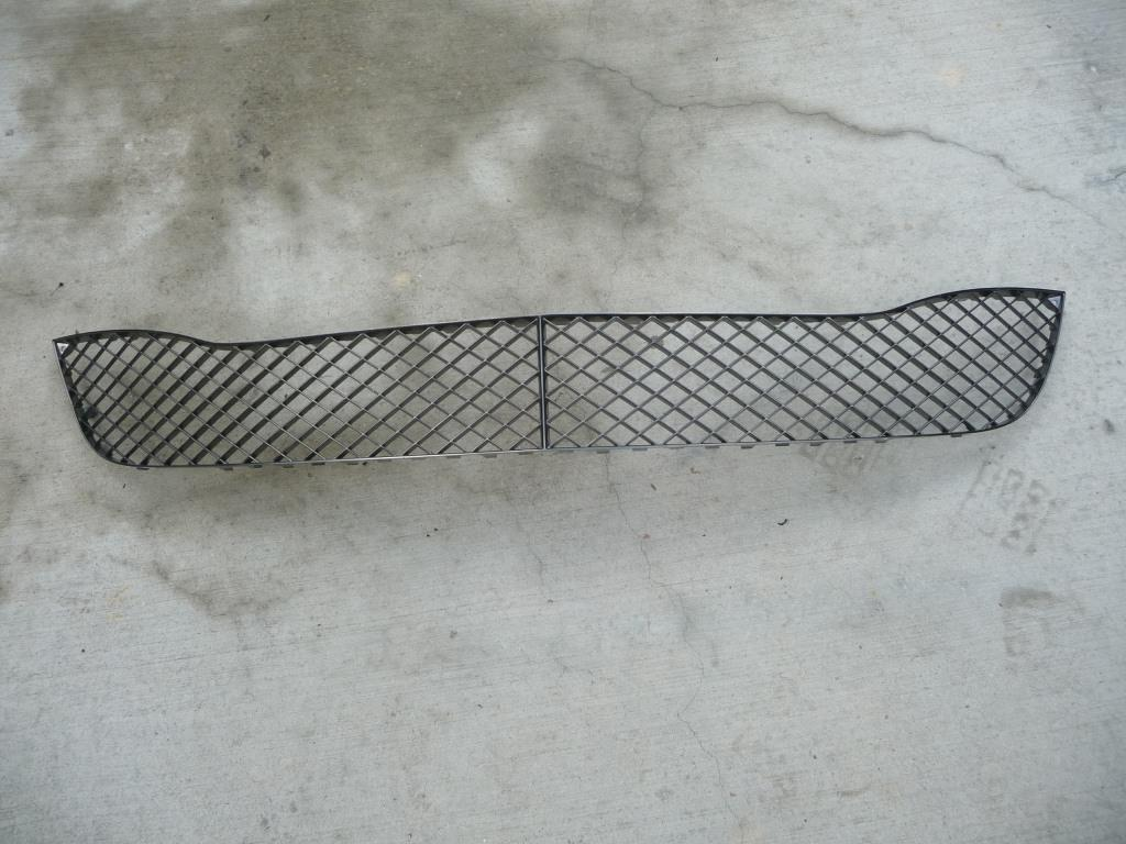 2009 2010 Bentley Continental GT GTC Coupe 2 Door Front Bumper Central Grille 3W8807667D