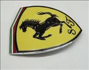 2001-2009 Ferrari 360 F430 Fender Shield Badge Front Squadra Corse Emblem P/N 65921900 OEM OE