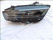 2016 2017 Audi A7 S7 Front LED Headlight Lamp Left Driver 4G8941033M For Parts OEM