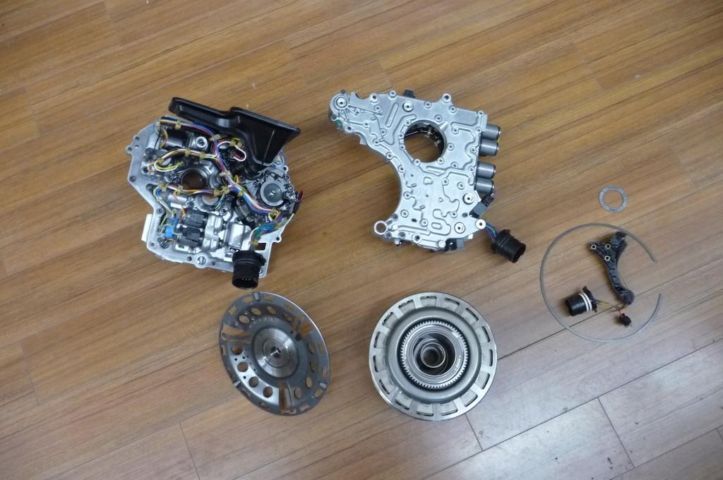 Ferrari California Gearbox Transmission Control Parts   LA ...