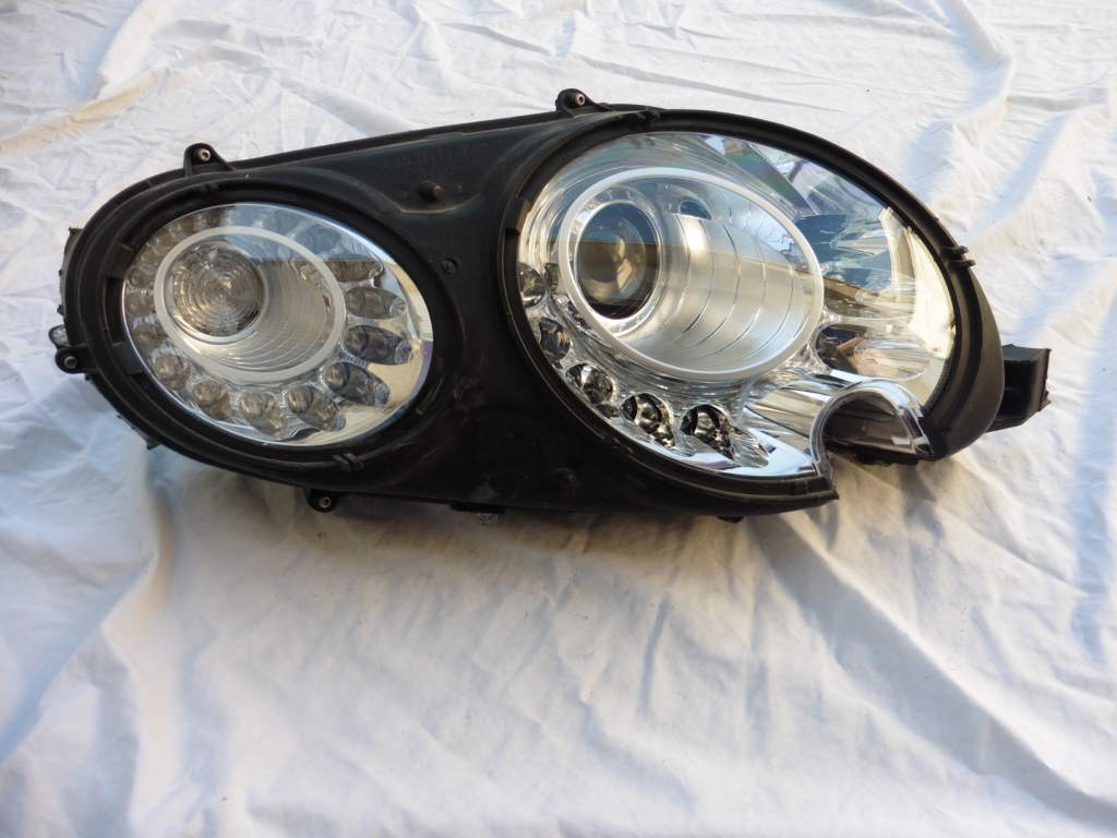 2012 2013 2014 2015 2016 Bentley Continental GT GTC Right Xenon HID Headlight Lamp 3W1941016BM For Parts