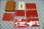 2002 Ferrari F360 360 Modena Owners Manual / Book / Leather Pouch Case 195298 OEM