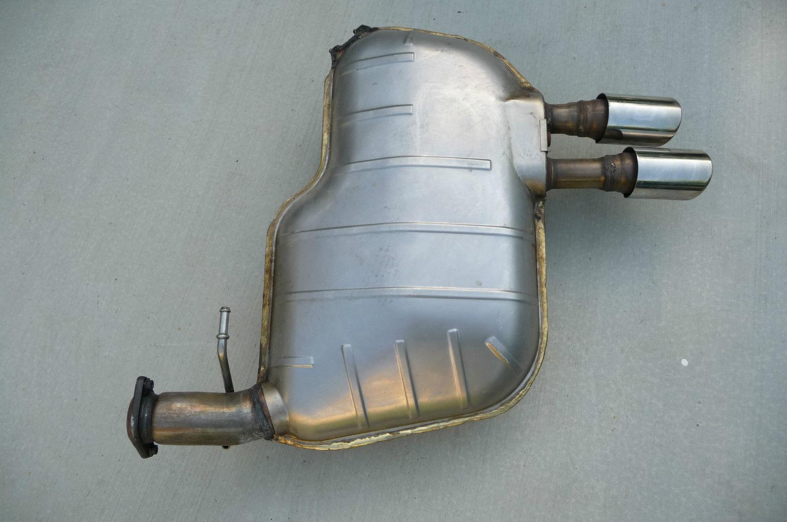 Ferrari 612 Scaglietti RH Right Exhaust Silencer 197767 - Used Auto Parts Store | LA Global Parts