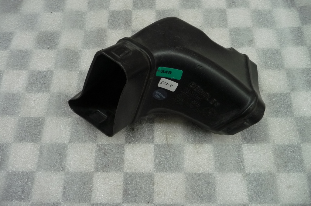12-16 Bentley Continental GT GTC Air Intake Duct Left/Center 3W0129251 OEM A1