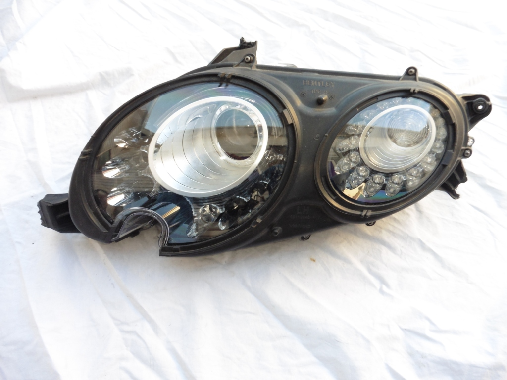 2012 2013 2014 2015 2016 2017 Bentley Continental GT GTC Left Xenon HID Headlight Black 3W1941015BH For Parts