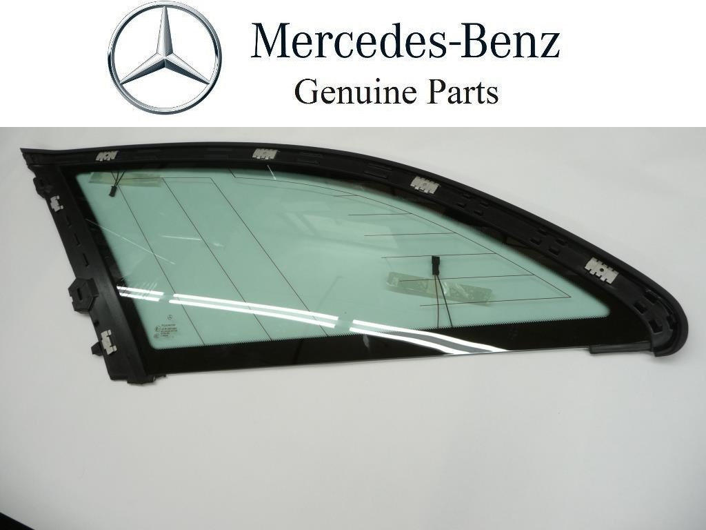 2002 2003 2004 2005 Mercedes Benz W203 C240 C320 Left Driver Side Quarter Window Glass A2036703312 ; 2036700112 OEM OE