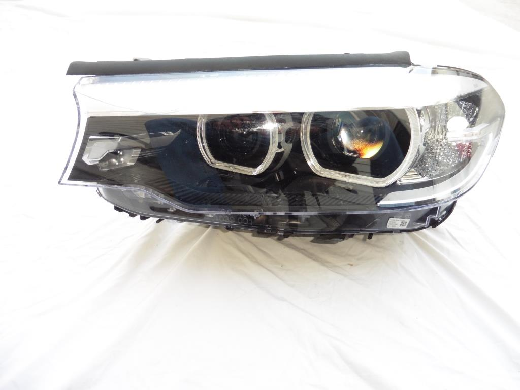 2017-2018 BMW G30 530i 540i xDrive Driver Left Headlight NO-LED, Adaptive OEM